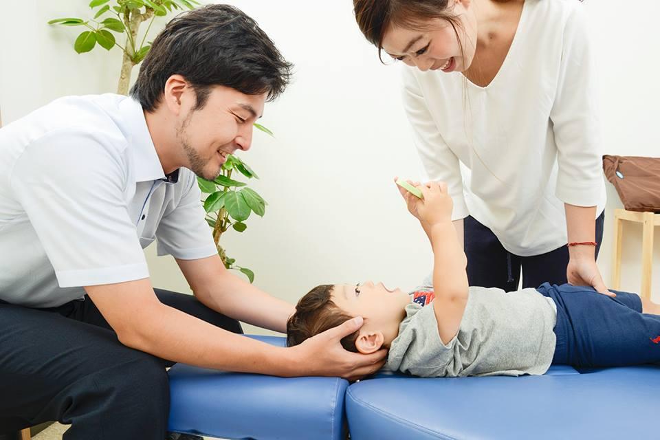 子供も治療、親付き